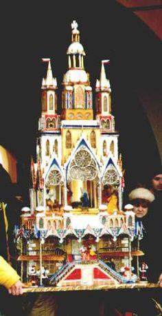 Nativity Scenes (szopkas) from an Exhibition in Krakow - Polish Culture