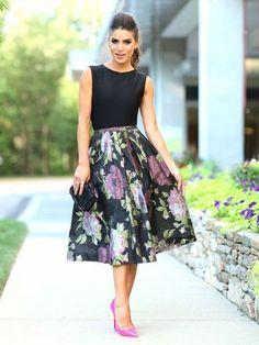 Модные пышные юбки 2017-2018 года, фото, новинки, тренды