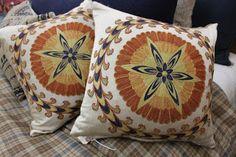 Blue Springs Home- Suzani pillows