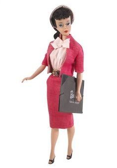 Fashion DesignerBarbie, 1960 Barbie has had over 100 career changes throughout the years, but one of her first jobs was designing dresses. Description from pinterest.com. I searched for this on bing.com/images