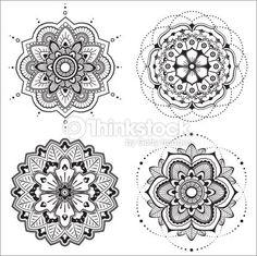 Illustration about Mandala Illustration. Illustration of shape, mandala, henna - 23828936 Mandala Art, Mandala Floral, Mandala Drawing, Henna Tattoo Designs, Mandala Tattoo Design, Mandala Thigh Tattoo, Tattoo Femeninos, Lotus Tattoo, Icon Set