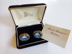Cuff Links Dante Pegasus Incolay Cameo Men's Jewelry In Box  $75   http://www.rubylane.com/item/1208760-J7/Cuff-Links-Dante-Pegasus-Incolay