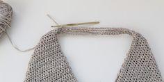 Beginner Crochet Tote Bag - Free Modern Pattern for Spring + Summer Free Crochet Bag, Crochet Market Bag, Easy Crochet, Beginner Crochet, Crochet Bag Tutorials, Crochet Patterns For Beginners, Basic Crochet Stitches, Crochet Basics, Crochet Hood