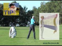 Golfschwung Übung der Körperbewegung - YouTube
