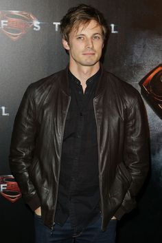 Bradley James attending 'Man of Steel' premiere in Sydney -24/06/2013   And looking good don't you think?!