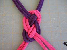 knotted jersey headband tutorial