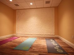 Yoga Room- something like this but maybe with a window for natural light :)