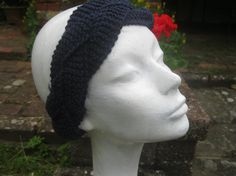 OOAK Hand knitted plaited head bandwrap ear by KnitwitDesignsUK, £10.00