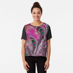 Chiffon Tops, Fitness Models, Digital Art, Printed, Awesome, Sleeves, Mens Tops, How To Wear, Stuff To Buy