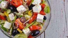 Salata greceasca cu feta, aromata, nutritiva si foarte gustoasa 🏠 Casuta... Feta, Caprese Salad, Romania, The Creator, Salads, Insalata Caprese