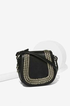Home Stretch Saddle Crossbody Bag