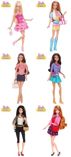Barbie life in the dreamhouse doll collection