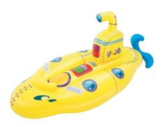 Bestway opblaasvoertuig Rider Sara Submarine geel 153 cm