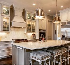 Lighting + Cabinets + Kitchen