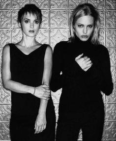 Winona Ryder and Angelina Jolie