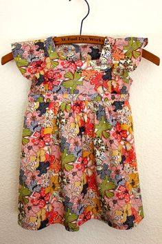 Liberty of London dress japanese pattern