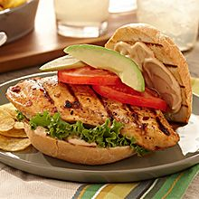 Chipotle Chicken Sandwiches | GOYA