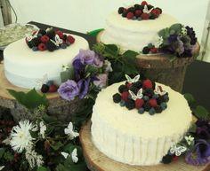 Original wedding cake idea by Lizzie evans at pass the teapot