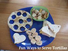 Five Fun Tortillas Lunch Ideas