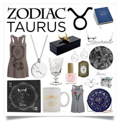 """Taurus"" by raven-couture ❤ liked on Polyvore featuring Celebrate Shop, Sparrow & Wren, Chupi, Belk & Co., Rock 'N Rose, Mapleton Drive, Gucci, Fresh, ncLA and zodiac"