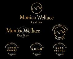 Real estate logo, Real estate logo design, Realtor logo, Realty logo, Real estate branding kit, Real estate branding logo, real estate logos
