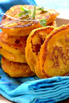 Low FODMAP and Gluten Free Recipe - Pumpkin, sage & Parmesan fritters  - http://www.ibssano.com/low_fodmap_recipe_pumpkin_sage_parmesan_fritters.html