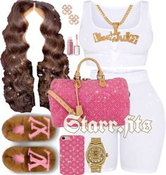 Message For More Outfit Ideas?♀️ School starts in with three months, which means it's already time Boujee Outfits, Baddie Outfits Casual, Swag Outfits For Girls, Teenage Girl Outfits, Cute Swag Outfits, Chill Outfits, Teenager Outfits, Cute Summer Outfits, Teen Fashion Outfits