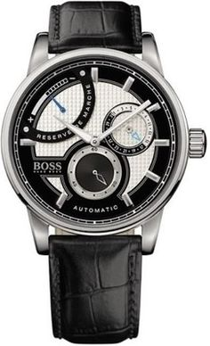 BOSS Black Automatic Leather Strap Watch available at Nordstrom Mens Rose Gold Watch, Rose Gold Watches, Hugo Boss Watches, Watches For Men, Men's Watches, Boss Black, Hugo Boss Man, Mechanical Watch, Black Rubber