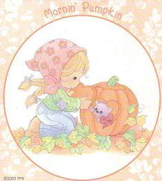 Photo of Morning Pumpkin for fans of Precious Moments 25866662 Precious Moments Coloring Pages, Precious Moments Quotes, Cool Cartoons, Disney Cartoons, Cartoon Fun, Space Theme Preschool, Pumpkin Photos, Comic Pictures, Holly Hobbie