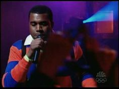 You know it's old if Kanye has to wear a literal backpack! Is that Burberry? Kanye West ft John Legend Miri Ben-Ari THROUGH THE WIRE LIVE - YouTube