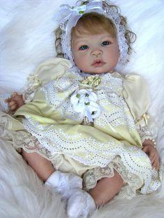 "Reborn Baby Doll Gorgeous ""Britney"" Shyann by Aleina Peterson"