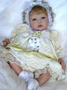 "Reborn Baby Doll Gorgeous ""Britney"" Shyann by Aleina Peterson"