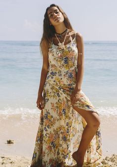 Heavenly Creatures Sunkissed Maxi Dress Summer Breeze Floral - Maxi Dress