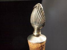 Antique Silver Cork Stopper - Wine Bottle Stoppers by BelmontandBellamy on Etsy