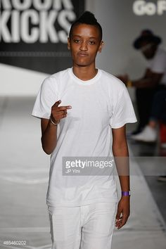 2071ae695033b6 News Photo   Syd tha Kyd walks the runway during BET Digital... Syd