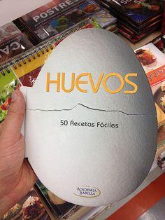 Gran diseño editorial para libro de recetas con huevo