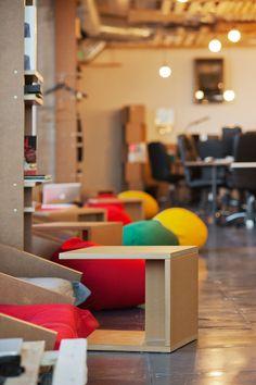 Saatchi & Saatchi in Bulgaria office renovation by funkt