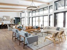 Syd and Shea McGee of Studio McGee blended organic and streamlined touches in a…