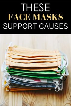 Face masks that donate to a good cause. Eos Products, Good Cause, Mask For Kids, Mask Making, Cute Faces, Meals For One, How To Raise Money, Shopping Hacks, Food Preparation