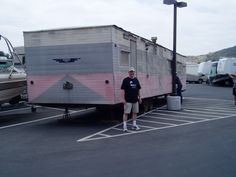 Pat McKinney's 1959 Nashua trailer, just like Jim Rockford's.