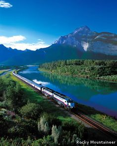 Rocky Mountain Express through Canada, one of my dream vacations