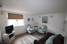 Fowey cottage rental - Longsteps Lounge 1