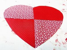 Lezione Patchwork - Pannello con Cuore - YouTube Tutorial, Video, Quilting, Embroidery, Rugs, Sewing, Youtube, Decor, Scrappy Quilts
