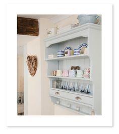 Paint color - borrowed light by farrow & ball Kitchen Units, Kitchen Ideas, Shaker Kitchen, Kitchen Inspiration, Kitchen Designs, Kitchen Storage, Kitchen Decor, Pool House Interiors, Blue Interiors