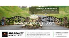 Beautiful Custom Gates and Entrances