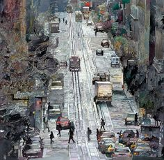 John Salminen's Watercolor Paintings of Urban Landscapes | Amusing Planet