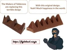 Toblerone. Have they