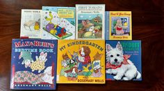 Lot Of 7 Rosemary Wells Children's Books Max Ruby McDuff Read to Your Bunny