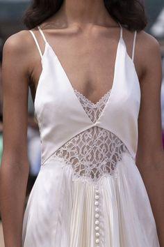 Wedding Dresses Simple Off White .Wedding Dresses Simple Off White New York Fashion, Runway Fashion, High Fashion, Fashion Show, Fashion Fashion, Fashion Women, Fashion Ideas, Bridal Fashion Week, Floral Fashion