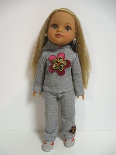 Hearts for Hearts Doll   Casual Fun by 123MULBERRYSTREET on Etsy